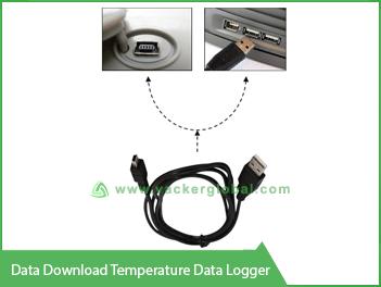 Data download Temperature Data Logger Vacker UAE