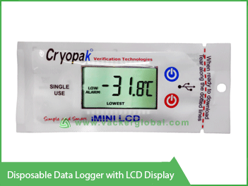Disposable Data Logger with LCD display Vacker UAE