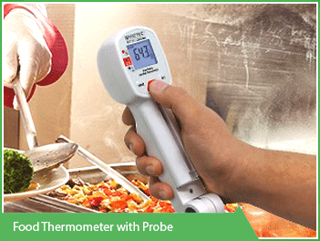 Food Thermometer with Probe Vacker UAE