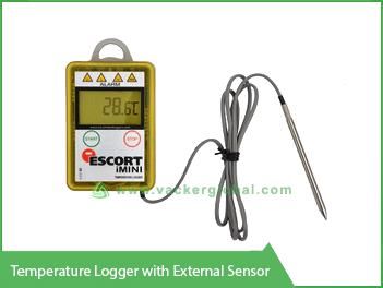 Temperature Logger with External Sensor Vacker UAE