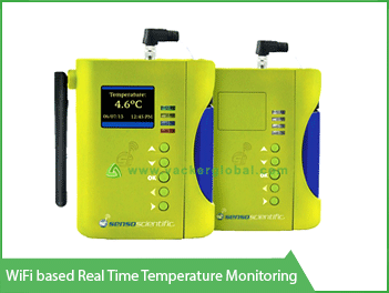 Wifi based real time temperature monitoring - Vacker UAE