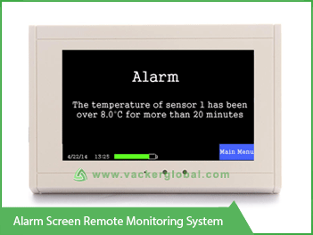 alarm screen remote monitoring system - Vacker UAE
