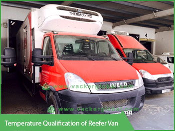 Temperature Qualification of Reefer Van - Vacker UAE