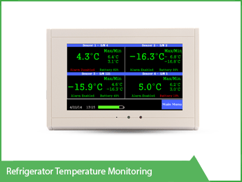 Refrigerator Temperature Monitoring VackerGlobal