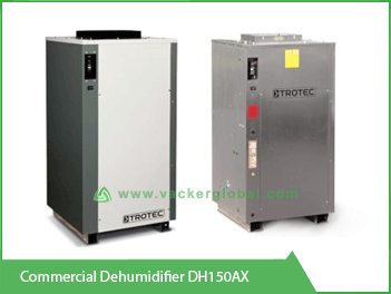 Commercial Dehumidifier DH150AX Vacker UAE