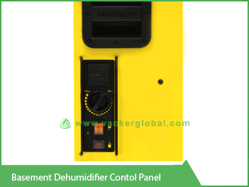 Basement Dehumidifier Control Panel Vacker UAE