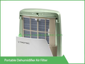 Portable Dehumidifier Air Filter Vacker UAE