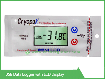 USB Data Logger with LCD Display Vacker UAE