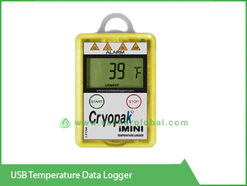USB Temperature Data Logger Vacker UAE