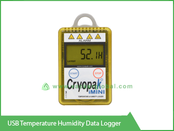 USB Temperature Humidity Data Logger Vacker UAE