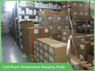 Cold Room Temperature mapping Study - Vacker UAE