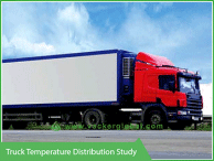 Truck temperature distribution - Vacker UAE