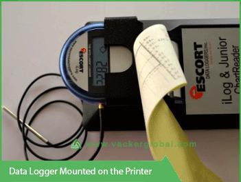 Temperature Data Logger with Printer